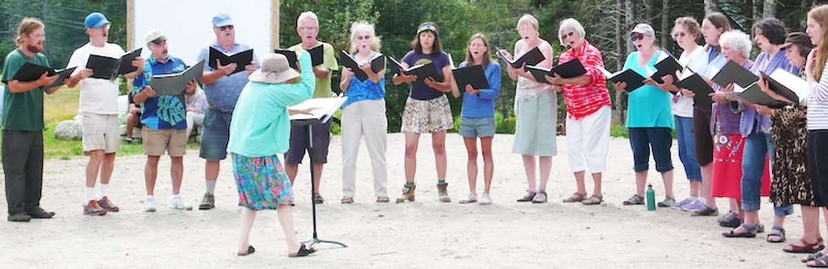 The Schoodic Summer Chorus